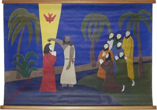II-2 - Johannes doopt Jezus in de Jordaan